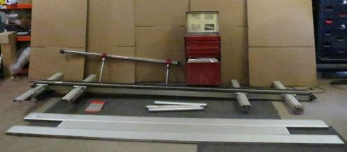 Blackhawk P-188 Universal Bodyshop Repair Straightening Vehicle Jig Ramp System
